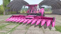New Holland CR10.90 pink