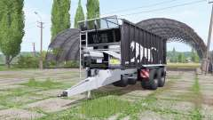 Fliegl ASW 271 Black Panther v1.1 para Farming Simulator 2017