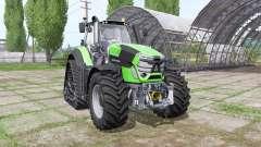 Deutz-Fahr Agrotron 9340 TTV RowTrac v1.2 para Farming Simulator 2017
