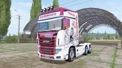 Scania R700 Evo Mammoet para Farming Simulator 2017