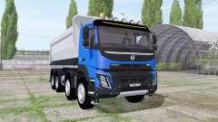 Volvo FMX 500 2010 tipper body para Farming Simulator 2017