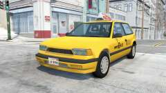 Ibishu Covet New York Taxi v0.12 para BeamNG Drive
