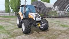 Steyr Multi 4115 front loader