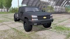 Chevrolet Silverado 3500 HD Crew Cab flatbed