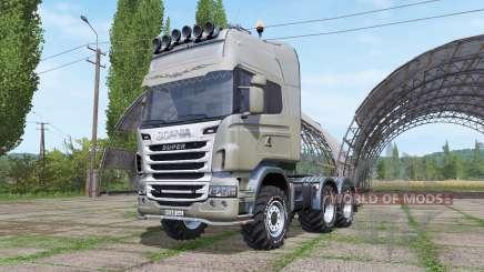 Scania R730 v1.0.3 para Farming Simulator 2017
