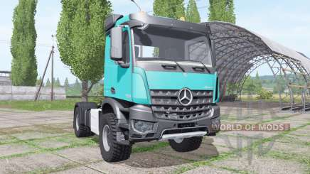 Mercedes-Benz Arocs 2043 2013 para Farming Simulator 2017