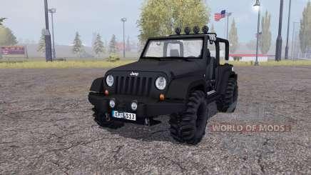 Jeep Wrangler (JK) v2.2 para Farming Simulator 2013