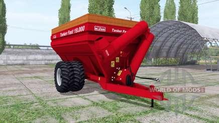 Jan Tanker Fast 19.000 para Farming Simulator 2017