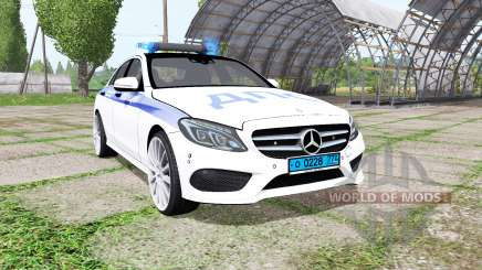 Mercedes-Benz C 250 AMG (W205) ДПС para Farming Simulator 2017