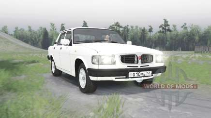 GAZ 3110 Volga v1.1 para Spin Tires