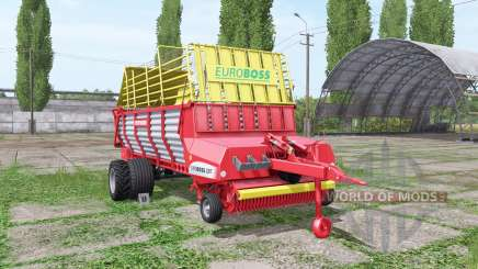 POTTINGER EUROBOSS 330 T twin tires para Farming Simulator 2017