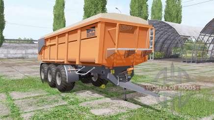 Dezeure DK33T para Farming Simulator 2017