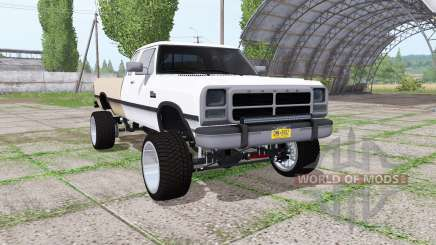 Dodge Ram D250 Club Cab 1991 para Farming Simulator 2017