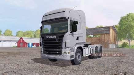 Scania R730 Topline cab para Farming Simulator 2015