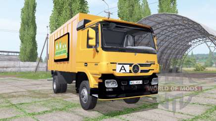 Mercedes-Benz Actros 1836 (MP2) garbage truck para Farming Simulator 2017