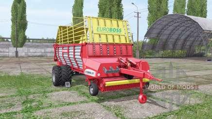 POTTINGER EUROBOSS 330 T twin tires para Farming Simulator 2017
