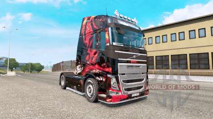MSI Jogos pele para o camião Volvo FH série para Euro Truck Simulator 2