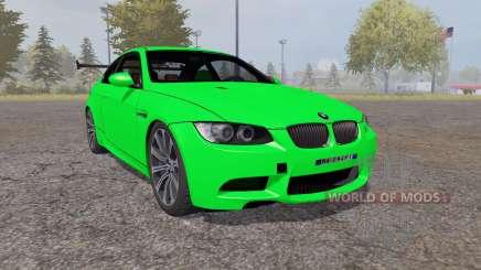 BMW M3 coupe (E92) 2007 para Farming Simulator 2013
