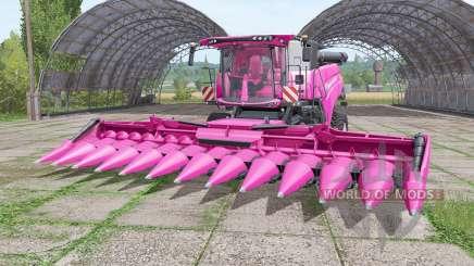 New Holland CR10.90 pink para Farming Simulator 2017