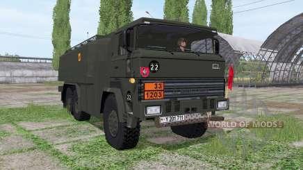 Magirus-Deutz 320 D 26 estrada de caminhões-tanque para Farming Simulator 2017