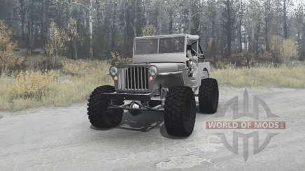 Willys MB off-road v1.1 para MudRunner