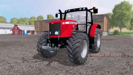 Massey Ferguson 6480 front loader para Farming Simulator 2015