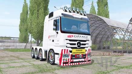 Mercedes-Benz Actros 4160 SLT (MP3) para Farming Simulator 2017