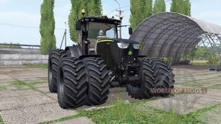 John Deere 6250R black v2.4 para Farming Simulator 2017