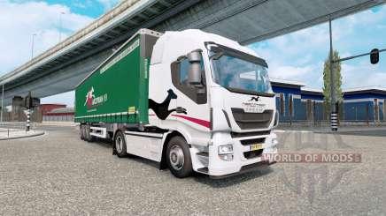 Painted truck traffic pack v4.5 para Euro Truck Simulator 2