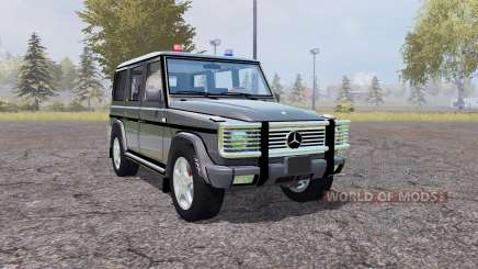 Mercedes-Benz G500 (W463) Unmarked Police para Farming Simulator 2013