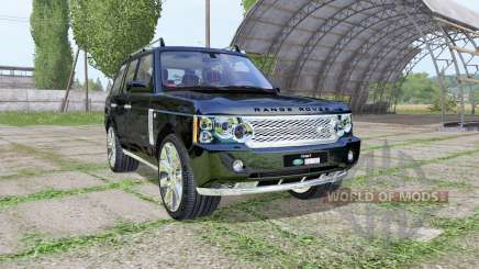 Land Rover Range Rover Supercharged (L322) 2009 para Farming Simulator 2017