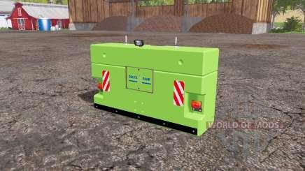 Deutz-Fahr weight para Farming Simulator 2015