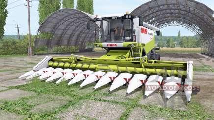 CLAAS Lexion 580 TerraTrac para Farming Simulator 2017