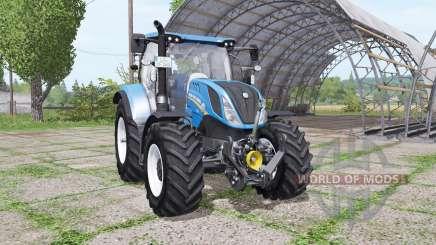 New Holland T6.140 v1.1 para Farming Simulator 2017