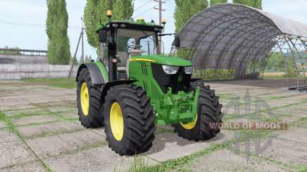 John Deere 6215R v2.3 para Farming Simulator 2017