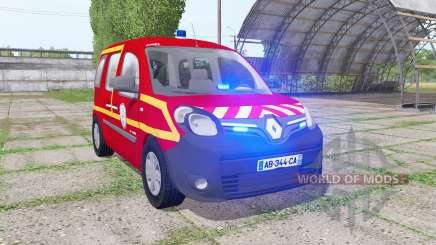 Renault Kangoo Extrem 2013 Sapeurs-Pompiers para Farming Simulator 2017