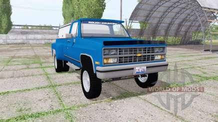 Chevrolet K30 1984 v1.1 para Farming Simulator 2017