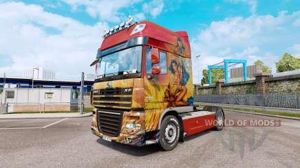 Compreender a pele para o DAF XF105 unidade de tracionamento.510 para Euro Truck Simulator 2