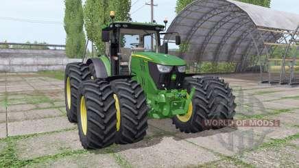 John Deere 6155R v2.9 para Farming Simulator 2017