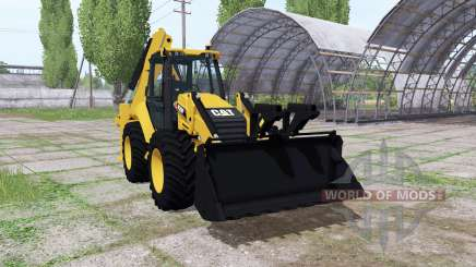 Caterpillar 420F para Farming Simulator 2017