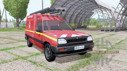 Renault Express Sapeurs-Pompiers para Farming Simulator 2017