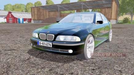 BMW 540i sedan (E39) 1996 para Farming Simulator 2015