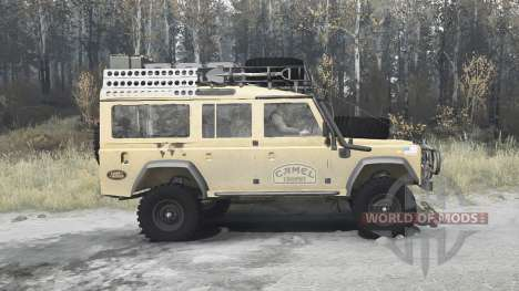 Land Rover Defender 110 Station Wagon para Spintires MudRunner