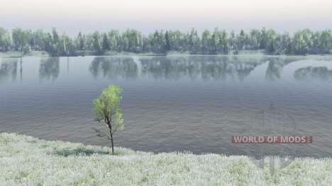 O Lago Baikal para Spin Tires
