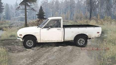 Datsun Pickup (521) 1969 para Spintires MudRunner