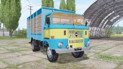 IFA W50 L cattle transport
