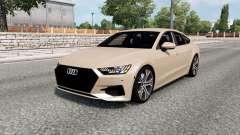 Audi A7 Sportback 2018 para Euro Truck Simulator 2