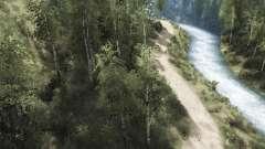 River Trails para MudRunner