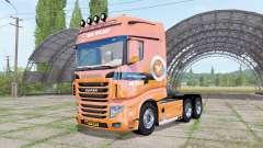 Scania R700 Evo V.D.Vlist para Farming Simulator 2017