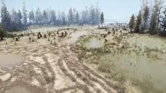 Swamp Felling para MudRunner